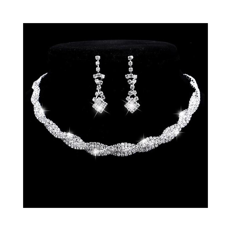 Kompletny zestaw biżuterii
